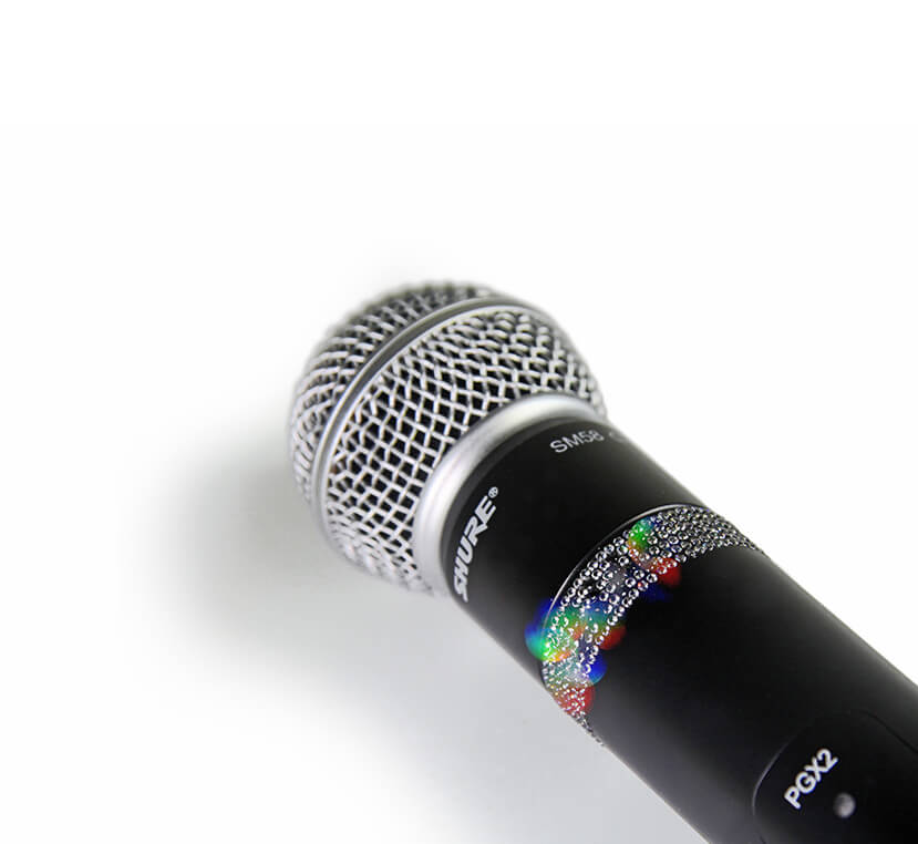 Jeweled microphone